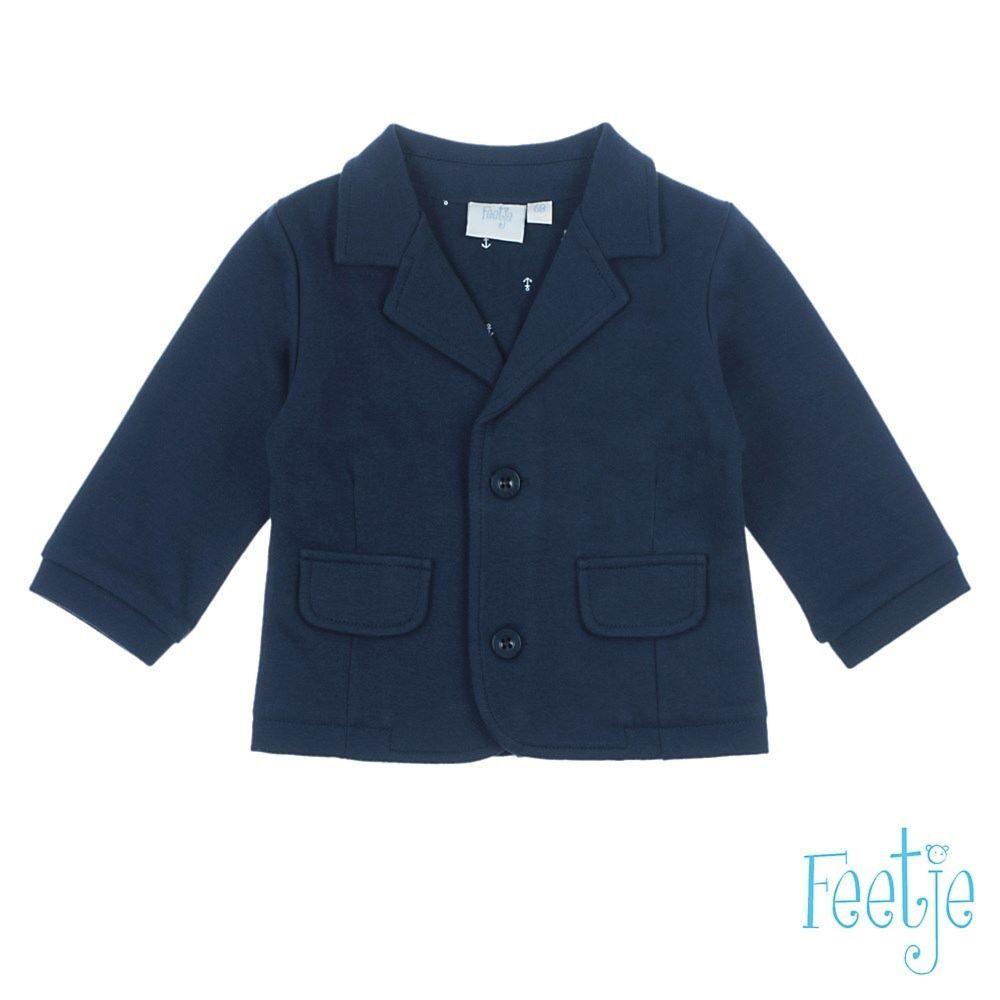 feetje jungen jacke blazer baby blau festlich gr. 62, 68, 74