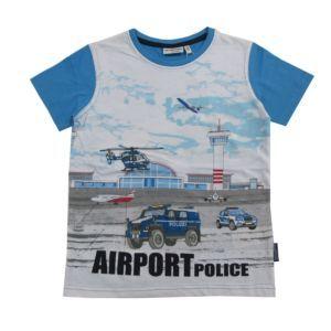 Salt and Pepper Jungen T-Shirt Kinder Motiv-Polizei Blau Größe 104/110-128/134