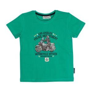 Salt and Pepper Jungen T-Shirt grün Polizei Gr. 92/98-128/134