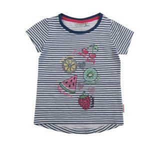 Salt and Pepper Mädchen Kinder T-Shirt gestreift Früchte Größe 92/98-104/110-128/134