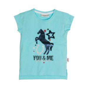 Salt and Pepper T-Shirt Gr.104/110-140/146