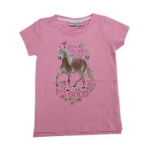 Salt and Pepper Mädchen Kinder T-Shirt rosa Pferd Größe 92/98-104/110-116/122-128/134