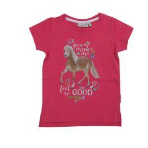 Salt and Pepper Mädchen Kinder T-Shirt pink Pferd Größe 92/98-104/110-116/122-128/134