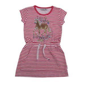 Salt and Pepper Mädchen Kleid Motiv Pferd Pink Sommer Größe 92/98-128/134