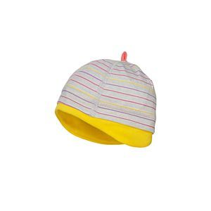 Maximo Mädchen Mütze Babymütze Grau Größe 33-39