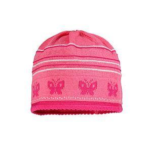 Maximo Mädchen Mütze Baby Strickmütze Pink Mädchen Größe 37-45