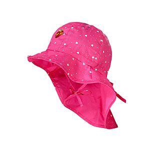MaxiMo Mädchen Mütze Sonnenhut Pink Gr. 47-53
