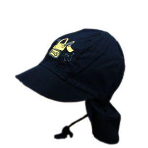 Maximo Jungen Mütze Hut Sonnenhut Blau Sommer Bagger Gr. 47-53