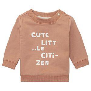 noppies Sweatshirt Baby Braun Jungen Pullover Langarm Größe 56-80
