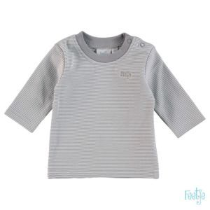 Feetje Baby Shirt Langarm Grau Größe 56-68 Basic