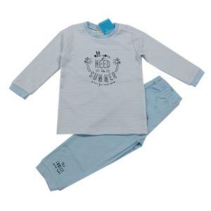 Feetje Jungen Schlafanzug Nachtwäsche Kinder Zweiteiler Blau Größe 74-104