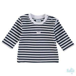 Feetje Jungen Shirt Langarm Marine Weiß Gestreift Baby Größe 50-86 Basic