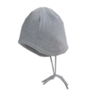 Maximo Baby Mütze Strickmütze grau Gr. 37-41