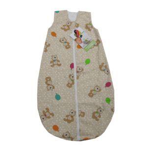 Odenwälder Baby Nice Sommer-Schlafsack Bär mit Ballon 130cm