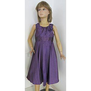 Eisend Mädchen Kleid Festlich Kinder Lila Größe 116