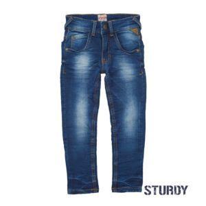 Sturdy Jungen Hose Jeans Slim Blau Größe 92, 128