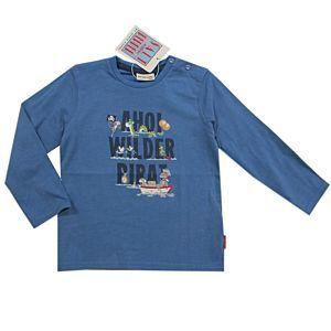 Salt and Pepper Jungen Shirt langarm Blau Pirat Größe 92