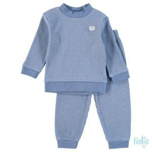 Feetje Jungen Schlafanzug Nachtwäsche Zweiteiler Pyjama Blau Größe 80-104