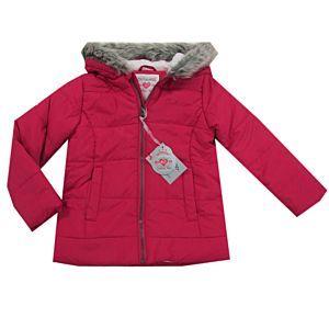 Outburst Kinder Jacke Winterjacke Mädchen Pink Kapuze Größe 98,116,128