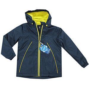 Outburst Jungen Jacke Winterjacke Regenjacke Wasserdicht Kinder Kapuze Blau Größe 98-140