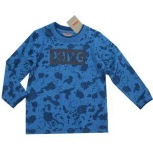 Kanz Jungen Shirt Langarm Blau Baby Gr.62-92