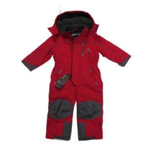 Outburst Kinder Schneeanzug Mädchen Skianzug Jungen Overall Einteiler Rot Größe 92-128