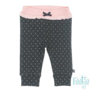 Feetje Baby Hose Shirthose Grau Punkte Mädchen Erstausstattung Frühchenkleidung Größe 44-74 Basic