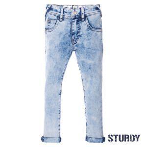 Sturdy Jungen Hose Jeans Blau Kinder Größe 92-140 Basic
