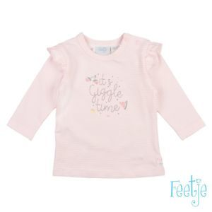 Feetje Mädchen Shirt Langarm Rosa Baby Größe 62-74