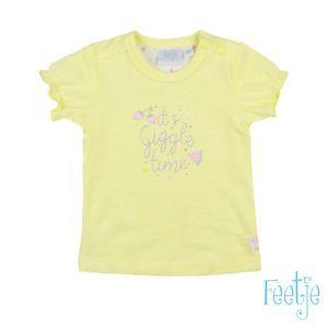 Feetje Mädchen T-Shirt Gelb Gr. 62-74