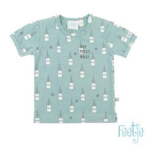Feetje Baby Jungen T-Shirt kurzarm Grün Größe 62-74