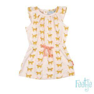 Feetje Mädchen Kleid Shirtkleid ärmellos Gr. 80-86