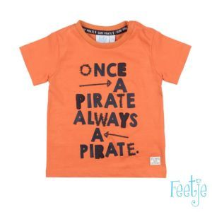Feetje Jungen T-Shirt Orange Gr. 74-86