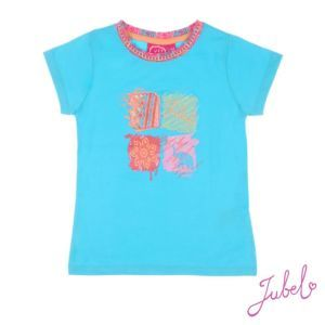 Jubel Mädchen T-Shirt Türkis Gr. 92-128