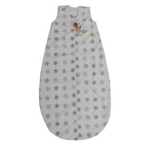 Odenwälder Baby Nice Schlafsack wattiert Sterne Weiß 130cm